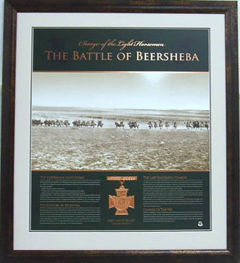 BATTLE OF BEERSHEBA - CHARGE OF THE 800