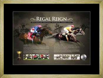 Regal Reign - Makybe Diva and Kingston Town