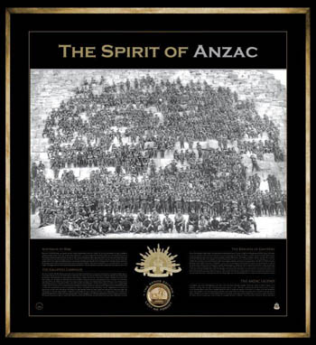 The Spirit of ANZAC - The Sands Edition